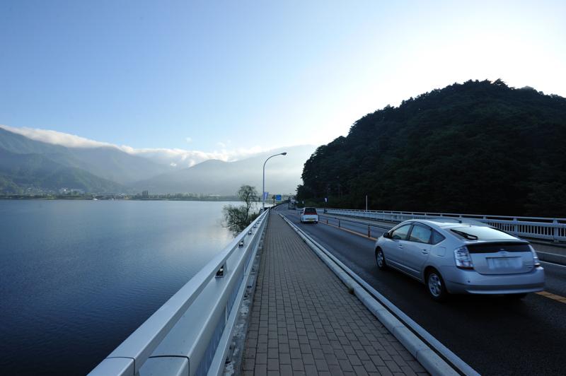 河口湖大橋から3