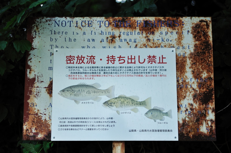 NOTICE TO THE FISHERS
