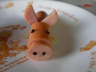 豚ウインナー