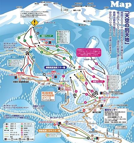 乗鞍map