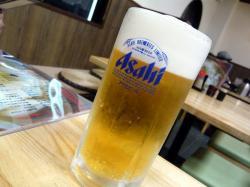 真 ビール .