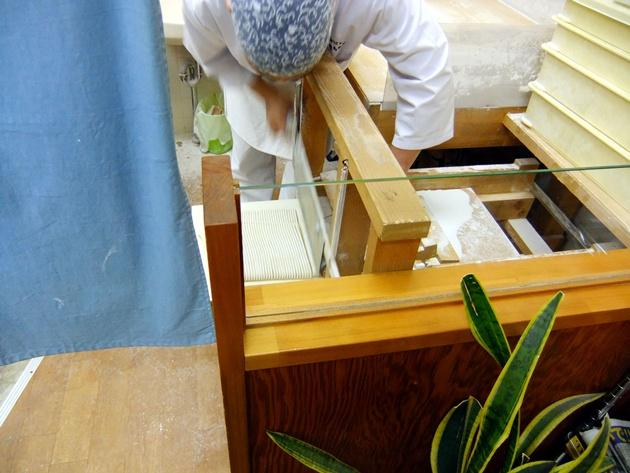 桂 麺切り