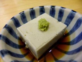 月 豆腐 .