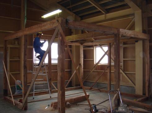 保管庫建築工事
