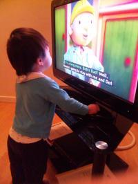 Waching TV
