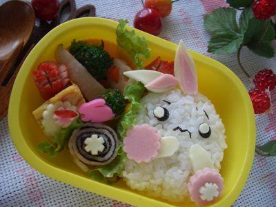 困ったウサギ