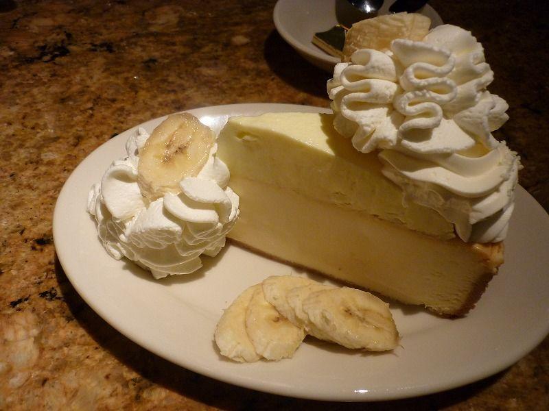 チーズケーキファクトリーのチーズケーキ