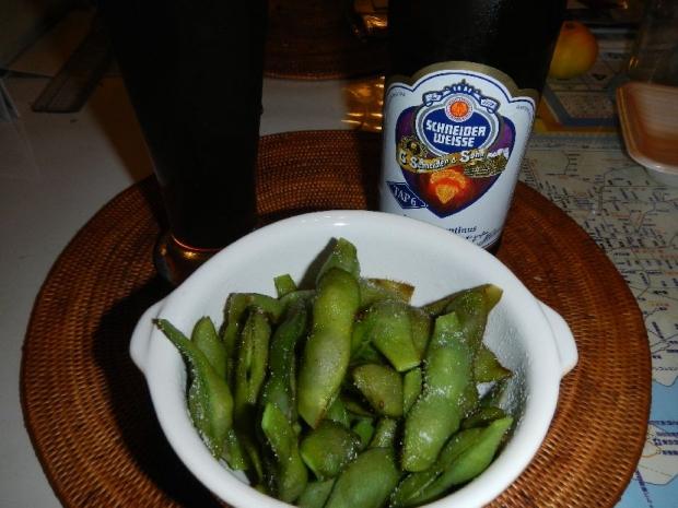 黒豆枝豆&ビール (4)