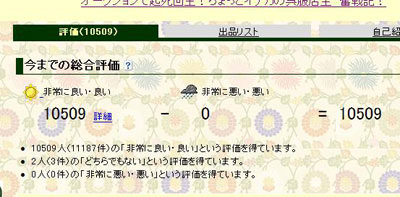 2009.12.20.ヤフオク評価