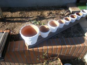 カルクウォール 植木鉢 1