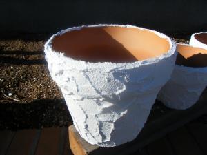 カルクウォール 植木鉢 2