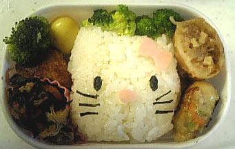 キティ弁当2