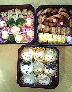 2010花見弁当