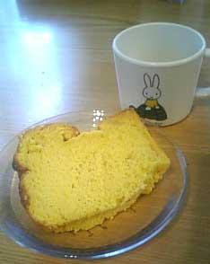 シフォンケーキ.カット