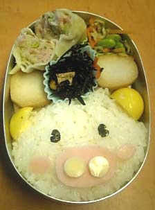 ぶたさん弁当2