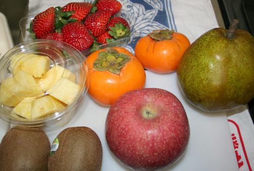 こんな果物を使います