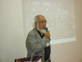 藤田祐幸さん講演風景1