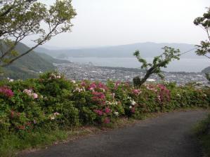 駿河湾の眺めがすばらしいです