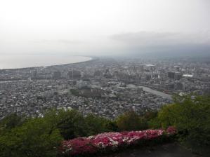 香貫山から沼津の眺めです