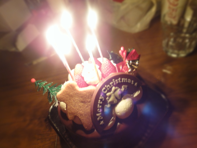 松月堂生チョコケーキ
