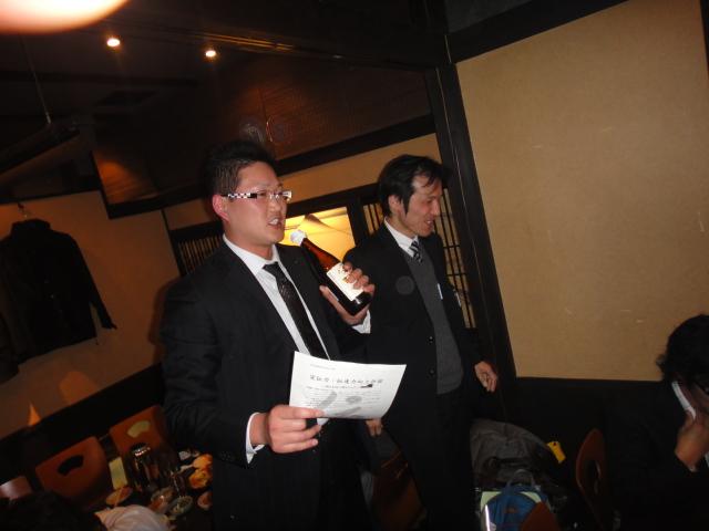記者発表司会 村田さん