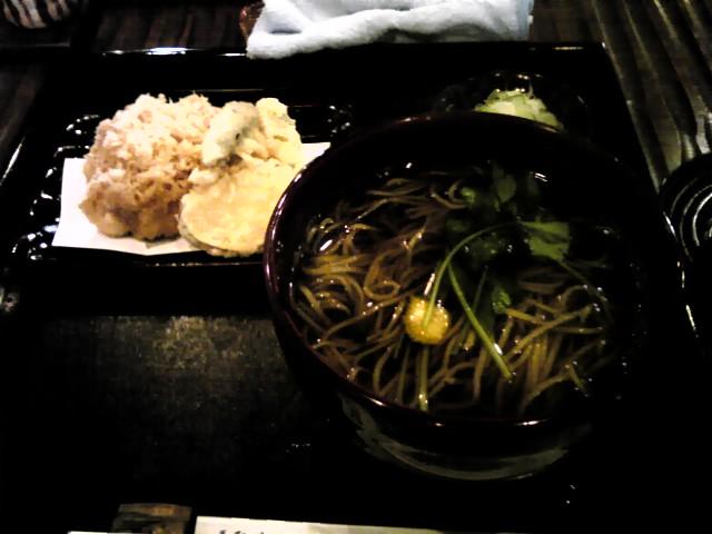 竹やぶ 天ぷらそば