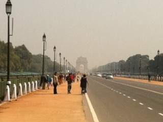インド門(遠くから)