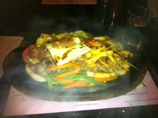 Beef ステーキの絵