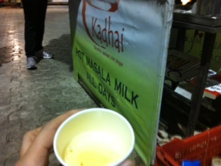 HOT MASALA MILK