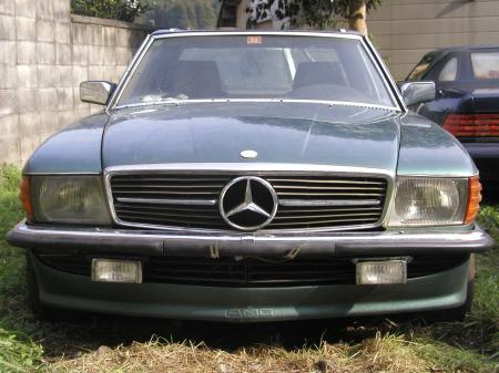 ベンツ R107 500SL