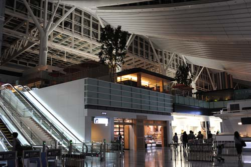 羽田空港国際線ターミナル内
