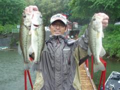 2011チャプター福岡 第4戦 北山湖 001