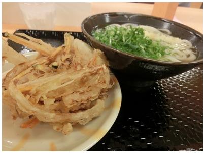 251020こがね製麺所3(かけ小とかき揚)