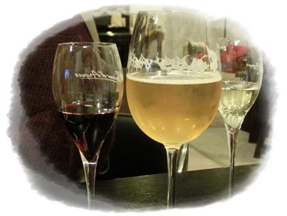 251123アボガドサラダとワイン8