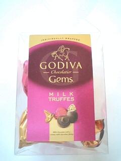 GODIVA Gems MILK TRUFFES