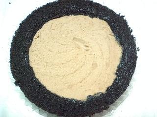 スプーンで食べる プレミアムチョコレートケーキ 純生クリーム使用  r