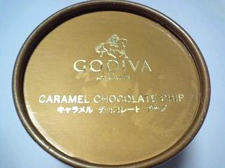 GODIVA キャラメル チョコレート チップ