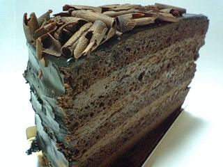 チョコレートケーキ  o
