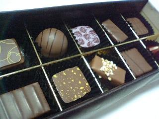 セレクション ショコラ レ ¥3990  a