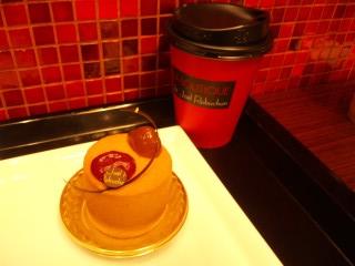 デリスマロンカシス コーヒー ¥900