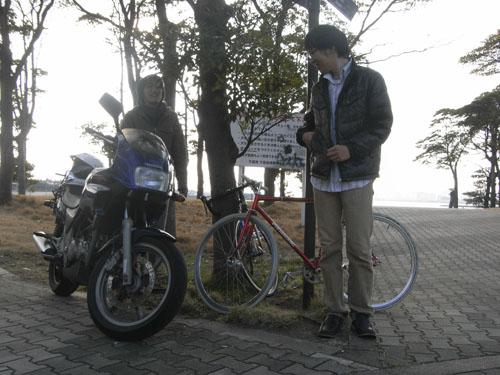 研究室サイクリング1