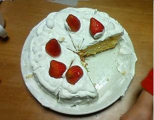 ケーキ手作り