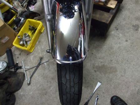 SR400修理 28