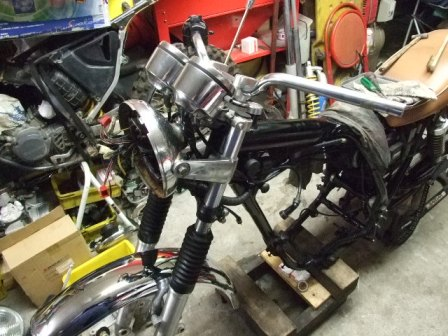SR400修理 25