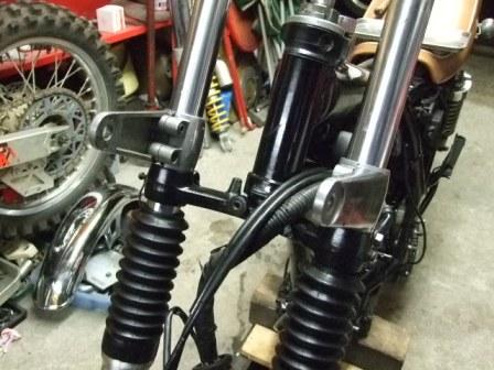 SR400修理 21