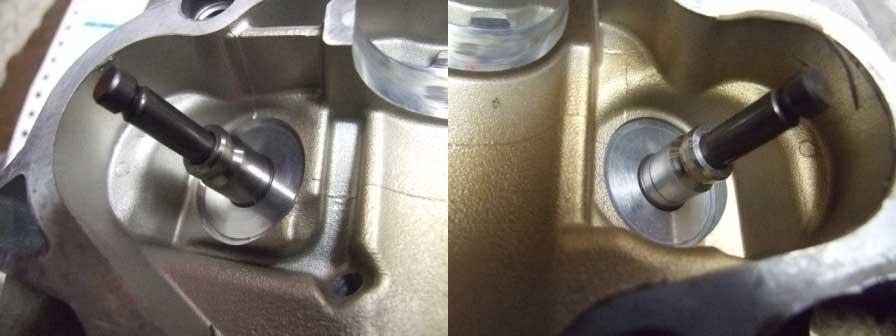 SR400修理-ヘッド