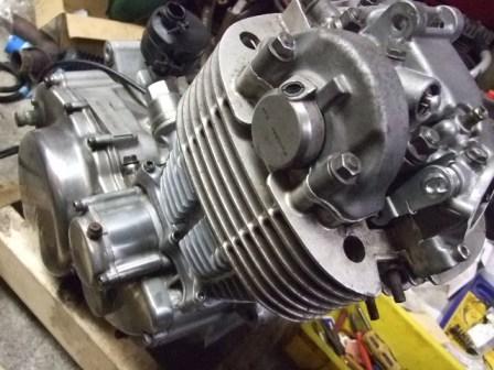 SR400修理 56