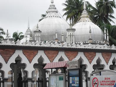 KLで一番古いモスク