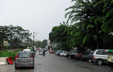 タンピンの市内風景