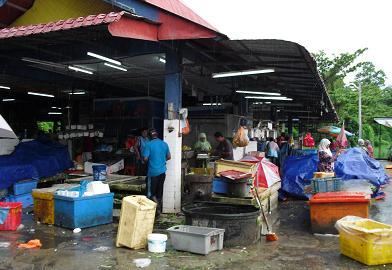 タンピンの市場1